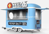 O mini carro do alimento para vender o bife pode ser personalizado de acordo com suas exigências (o CE)