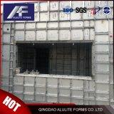Для простоты конструкции алюминиевой панели опалубки срезной стены опалубки