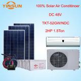 100% de la energía solar 24 V CC 18000BTU aire acondicionado split de pared
