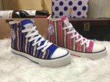 Женщин/Дамы Canvas обувь, верхняя/высокое качество повседневная обувь, спортивную обувь и обувь