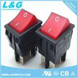 Aggancio interruttore di attuatore del tasto dei perni dell'ingresso/uscita 4 di potere di micro con indicatore luminoso 16A 250VAC
