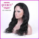 Parrucca naturale del merletto della parte anteriore dei capelli del Virgin dell'essere umano di colore 100% dell'onda naturale lunga