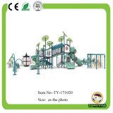 Parque Infantil exterior de estilo castelo deslize para venda (TY-171019)