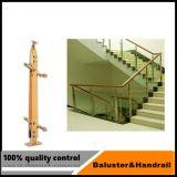 스테인리스 계단 테라스를 위한 유리제 방책 기둥