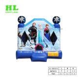 Prachtige Bevroren Sneeuw Koningin Inflatable Jumping Bouncer voor Jonge geitjes