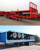 대륙간 탄도탄 차량 - 반 3개의 차축 트레일러 확장 가능한 평상형 트레일러 바람 잎 트레일러