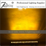 Wand-Unterlegscheibe-Lichter der Hintergrund-Dekor-Beleuchtung-18X10W RGBW LED mit Röhrenblitz, Farben-Änderungs-Effekte für Ereignis-Hochzeits-Planung
