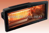 Aquecedor de calor Quartz IR para relaxamento ao ar livre
