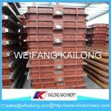 Matériel malléable de fonderie de fonte grise de flacon de moulage de sable de flacons de bâti de fer de qualité