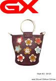 № 30123 Цветочный дизайн женщин аксессуар креста органа PU мешок ковша