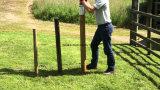 Thrall Max valla de acero de 80mm T hincapostes