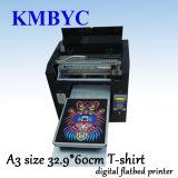 Machine d'impression à plat de T-shirt de Digitals avec le modèle personnalisé
