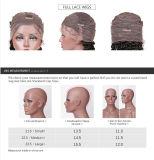 Preço de grosso 100% da onda cheia do corpo do cabelo do Virgin da peruca do laço do cabelo humano