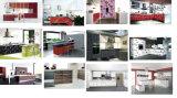 Gabinetes de cozinha acrílica de madeira brilhante para móveis de hotel (acrílico para portas de armários)