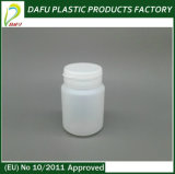 бутылка конфеты цилиндра HDPE 60ml пластичная