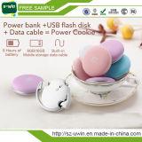 16 기가 바이트 USB 플래시 디스크 1020mAh 쿠키 전원 은행