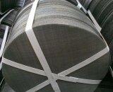 Tissu filtrant de treillis métallique d'acier inoxydable pour la pompe de vide