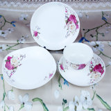 Het beste verkoopt het Ceramische Vaatwerk van China van het Been van het Diner Vastgestelde Nieuwe