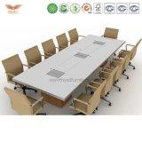 Moderner Art-Büro-Konferenztisch-Konferenzzimmer-Tisch angepasst