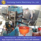 機械またはゴムタイルの加硫装置を作るタイヤによってリサイクルされるゴム製タイルまたはPlaygrondゴム製タイルの鋳造物出版物機械を作るゴム製タイル