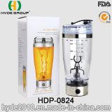 La bouteille électrique en plastique de dispositif trembleur de vente chaude avec la charge d'USB, BPA libèrent la bouteille électrique en plastique de dispositif trembleur de protéine (HDP-0824)