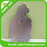 Förderndes kundenspezifisches Zeichen gedruckt ringsum Zinn-Metallkühlraum-Magneten