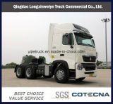トラクター、トレーラー、HOWO 6X4の頑丈なトラック、トラクターのトラック、トレーラトラック