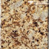 フロアーリング及び壁(MT031)のための磨かれたGialloアマゾンの花こう岩のタイル