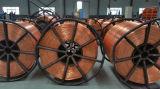 Flexibele Elektrische Kabel 1X4mm van de Aarde van de Kern van het Koper van de Kabel van pvc van de Draad Enige