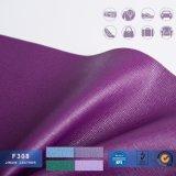 Cuoio del PVC Saffiano/cuoio della tappezzeria/cuoio di cuoio sintetico di Huahong