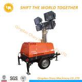 Móviles del motor diesel de la Torre de Luz