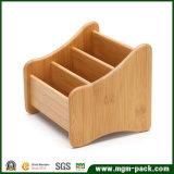Artículos de papelería de alta calidad caja de almacenamiento de madera maciza