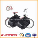 Tubo interno de bicicleta natural de alta qualidade 18X1.75