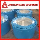 Cilindro hidráulico personalizado do petróleo industrial do elevado desempenho para o projeto da tutela da água