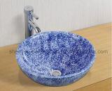 Bassin en céramique de couleur de salle de bains de lavabo (MG-0053)