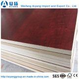 El tamaño de grano de madera están ajustadas/MDF melamina color sólido