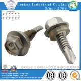 Pan Head / Tête Plate / Hex Rondelle Head Self Drilling Vis auto Drilling Tapping Vis Tek Vis