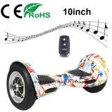 vespa eléctrica Hoverboard de la rueda 10inch dos con Ce