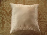 Grace Matte Satin Embdroidery Public garden DEC Pillow