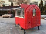 Rue alimentaires Boulangerie Wholeale Hot Dog Panier Panier pour la vente de remorque