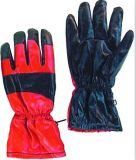Прокатанная нитрилом польностью акриловая перчатка зимы кучи--5401