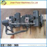 Pompe hydraulique double A4VG90+AVG90 pour machine d'agitateur