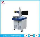 Máquina de grabado de la marca de la etiqueta de plástico del laser de la fibra del LED para los accesorios de la herramienta
