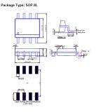 Monolithische integrierte Schaltung IS-Ap1509-Adj für Abwärts-DC/DC Konverter