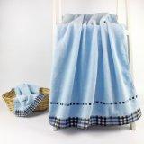 ホームのための高品質の綿2のセットの超柔らかいタオル