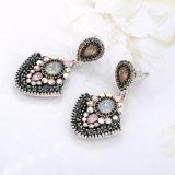 Het Kristal van de Halfedelsteen van de Stijl van India van de luxe Dame Jewelry Earring