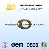 Pezzo fuso di Invesment del rame di alta qualità dell'OEM Cina con lavorare