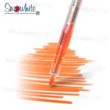Snwohite Pvp626 Leuchtmarker mit flüssige sortierter Meißel-Spitze des Tinten-Systems-10 Farben