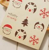 El papel de Navidad personalizadas etiquetas autoadhesivas etiquetas impresión de etiquetas etiqueta impresa