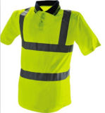 도로 노동자를 위한 사려깊은 물자를 가진 교통 안전 조끼